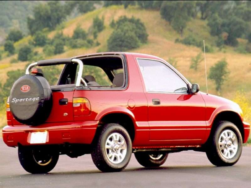 1999 Kia Sportage Pictures Including Interior And Exterior