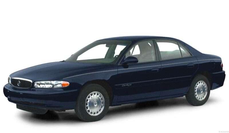 Threequartersview on 1999 Buick Rainier