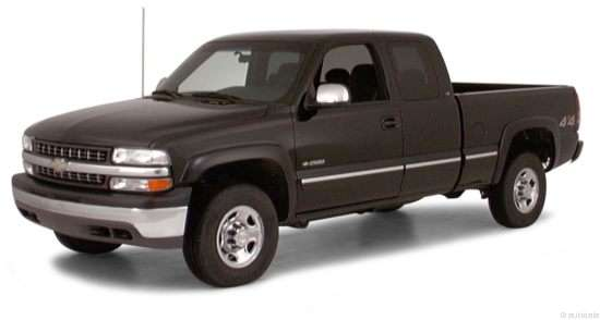 2000 Chevrolet Silverado 2500 Base 4x4 4dr Extended Cab Short Box