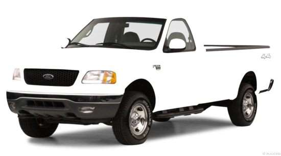 2000 Ford F-150 XLT 4x4 Regular Cab Styleside Styleside Long Box