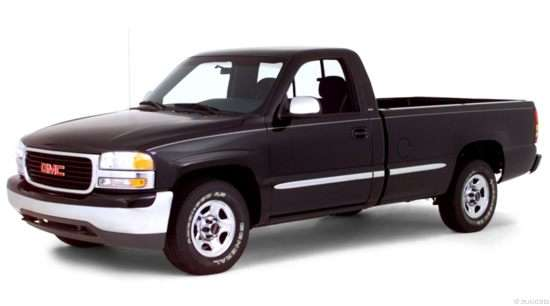 2000 GMC Sierra 1500 SLE 4x2 Regular Cab Short Box