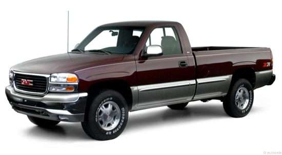 2000 GMC Sierra 1500 SLE 4x4 Regular Cab Long Box
