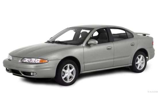 2000 Oldsmobile Alero GL3 Sedan