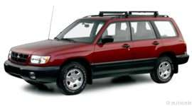 2000 Subaru Forester L 4dr All-wheel Drive