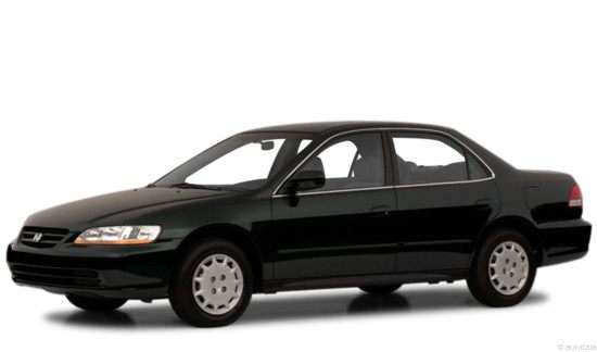 2001 Honda Accord 2.3 LX w/ABS/Side Airbags (A4) Sedan