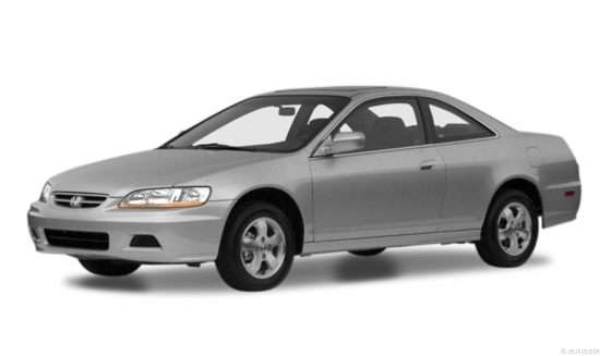 2001 Honda Accord 2.3 EX (A4) Coupe