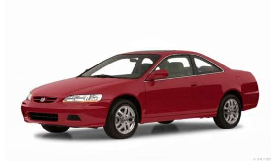 2001 Honda Accord 3.0 EX w/Leather (A4) Coupe