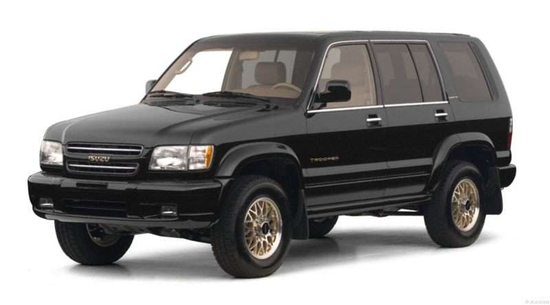 2001 Isuzu Trooper Pictures Including Interior And