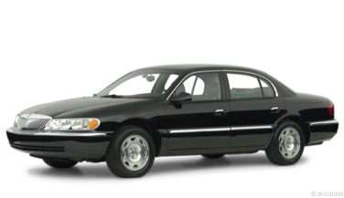 2001 Lincoln Continental Gas Mileage Mpg And Fuel Economy