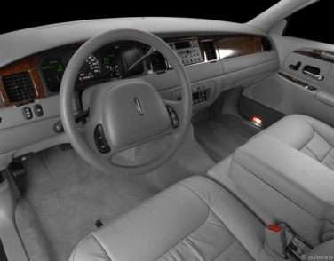 2001 Lincoln Town Car Models Trims Information And Details