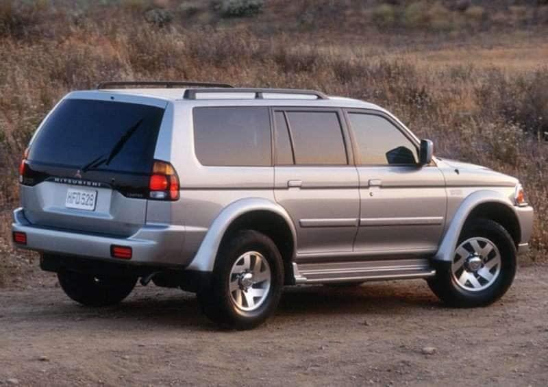 2001 Mitsubishi Montero Sport Pictures including Interior and ...