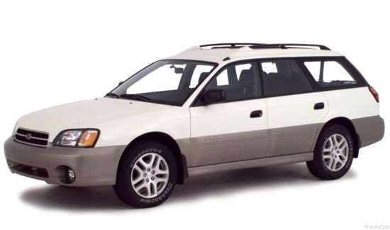 2001 Subaru Outback Base (A4) Wagon