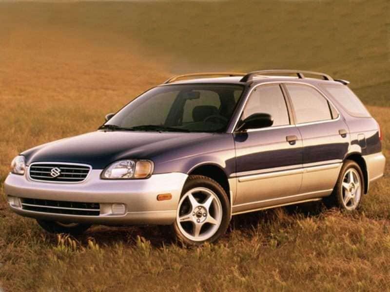 2001 Suzuki Esteem Pictures Including Interior And Exterior Images