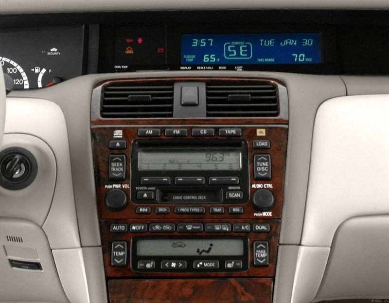 Toyota Avalon Pictures Including Interior And Exterior Images - 2001 avalon