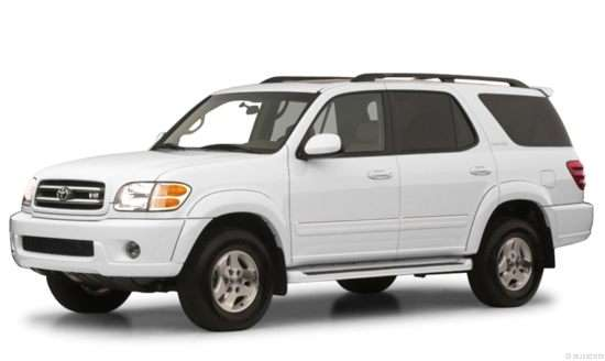 2001 Toyota Sequoia Models Trims Information And
