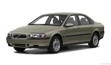 2001 Volvo S80 Gas Mileage Mpg And Fuel Economy Ratings