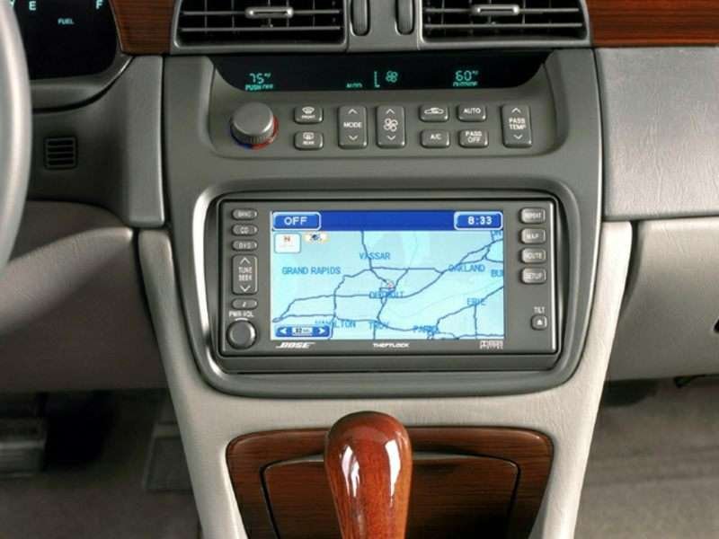 2002 Cadillac Deville Pictures Including Interior And Exterior