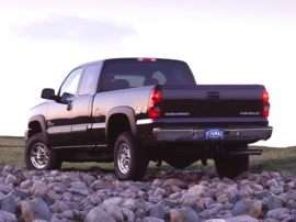 2002 Chevrolet Silverado 2500HD LT 4x2 Extended Cab 6.6 ft. box 143.5 in. WB