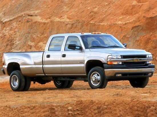 2002 Chevrolet Silverado 2500HD Base 4x4 Crew Cab 6.5' Box