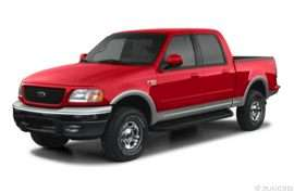 2002 Ford F-150 SuperCrew Lariat 4x2 Styleside 139 in. WB
