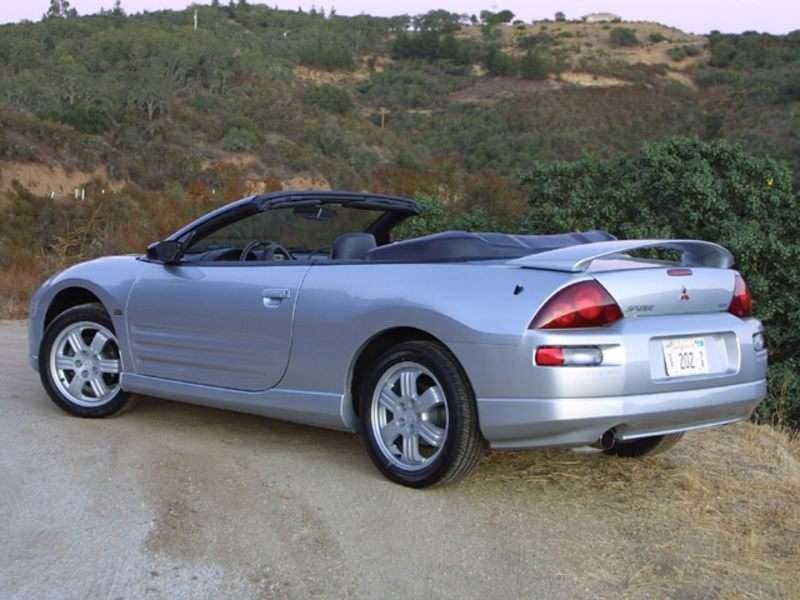 2002 mitsubishi eclipse spyder pictures including interior and