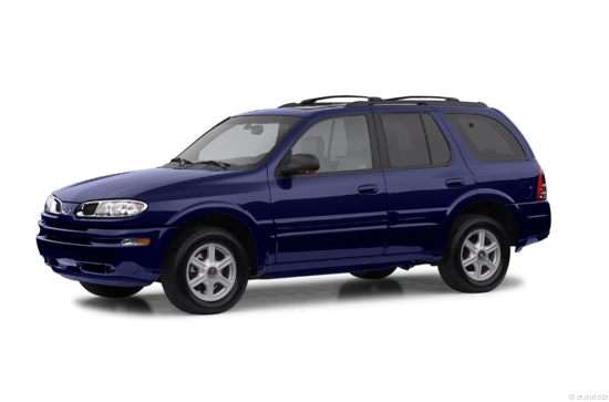 Threequartersview on 2000 Oldsmobile Bravada Recalls