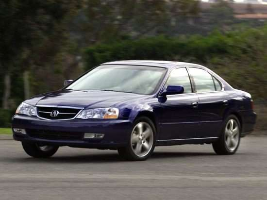 2003 Acura TL With Navigation System