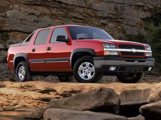2003 Chevrolet Avalanche 2500 Models, Trims, Information ...
