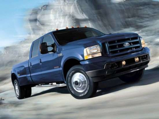 2003 Ford F-350 Lariat 4x2 SD Crew Cab Long Box