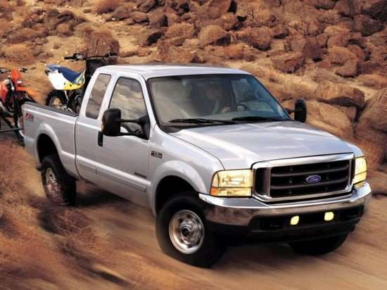 2003 Ford F-350 Lariat 4x4 SD Super Cab Long Box