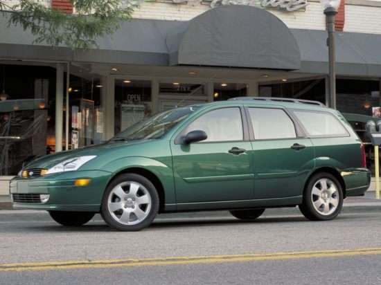 2003 Ford Focus ZTW (410A) Wagon