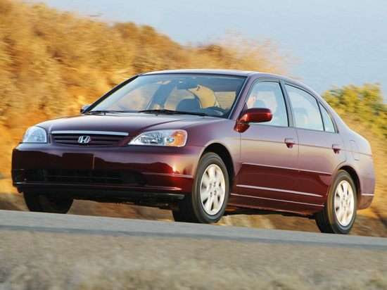 2003 Honda Civic EX (A4) Sedan