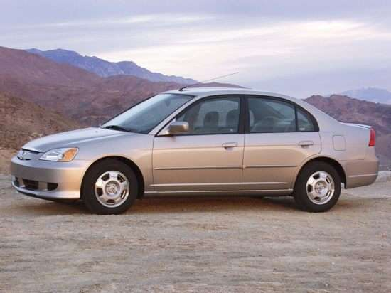 2003 Honda Civic Hybrid w/SULEV (CVT) Sedan