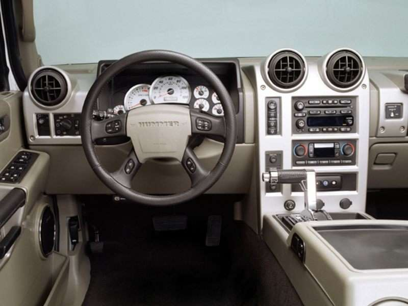 2003 Hummer H2 Pictures Including Interior And Exterior Images