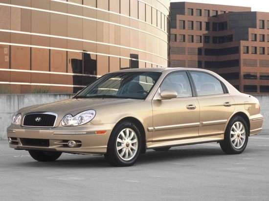 2003 Hyundai Sonata Models Trims Information And