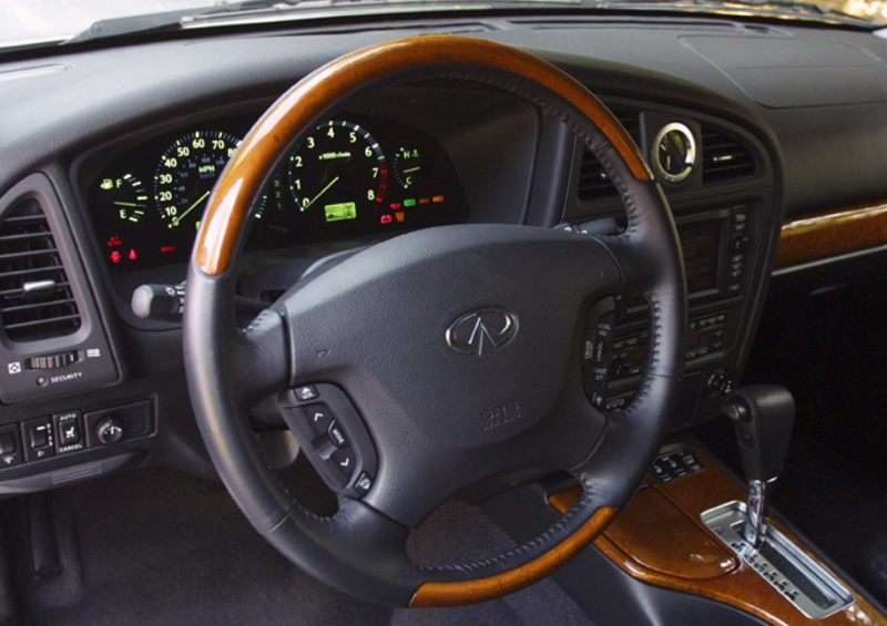 2003 Infiniti Qx4 Pictures Including Interior And Exterior Images