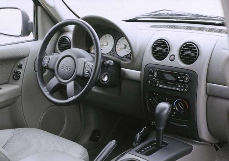 2003 jeep liberty interior