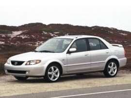 Oemexteriorfront on 2001 Mazda Protege Mpg