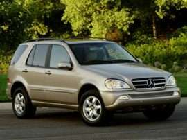 2003 Mercedes-Benz M-Class Base ML 320 4dr All-wheel Drive