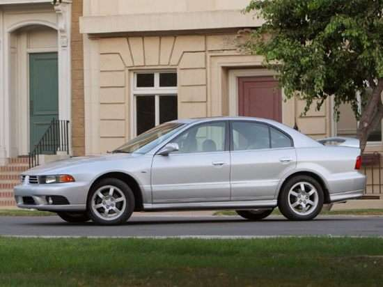 Oemexteriorview on 2009 Mitsubishi Galant Reviews