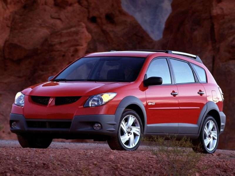 2003 Pontiac Vibe Pictures Including Interior And Exterior
