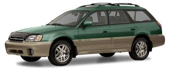 2003 Subaru Outback Models Trims Information And Details