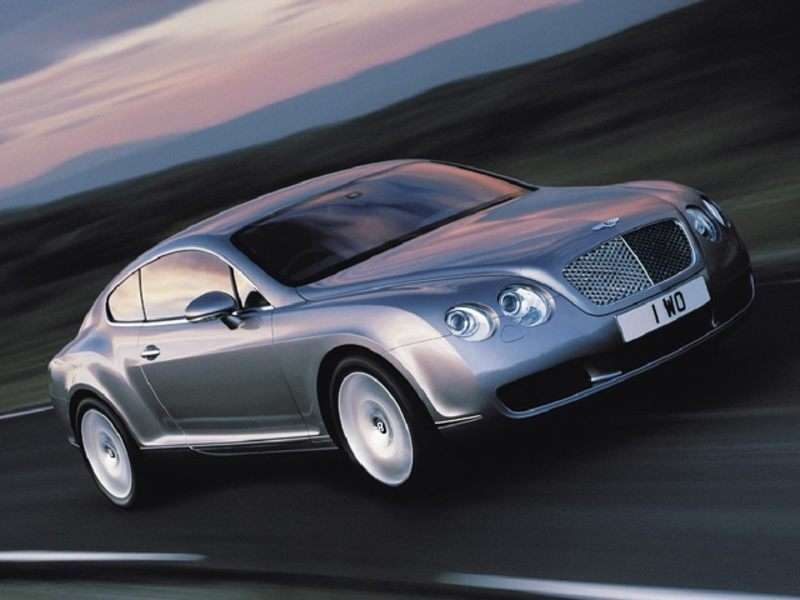 Oemexteriorview on 2005 Bentley Continental Gt Mpg