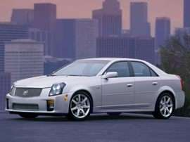 2004 Cadillac CTS-V Base 4dr Sedan