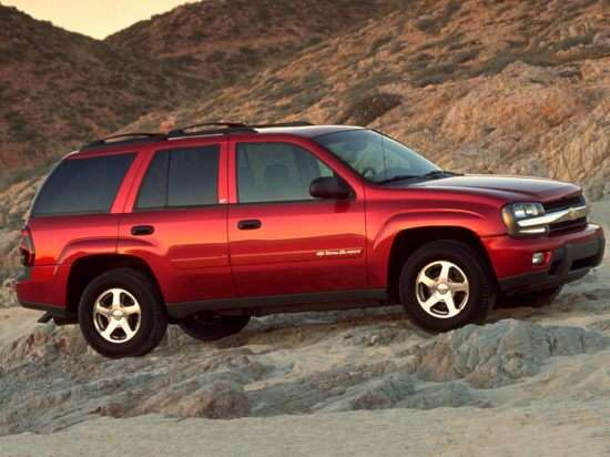2004 Chevrolet TrailBlazer Models, Trims, Information, and Details