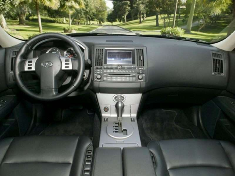 2004 Infiniti Fx35 Pictures Including Interior And Exterior Images