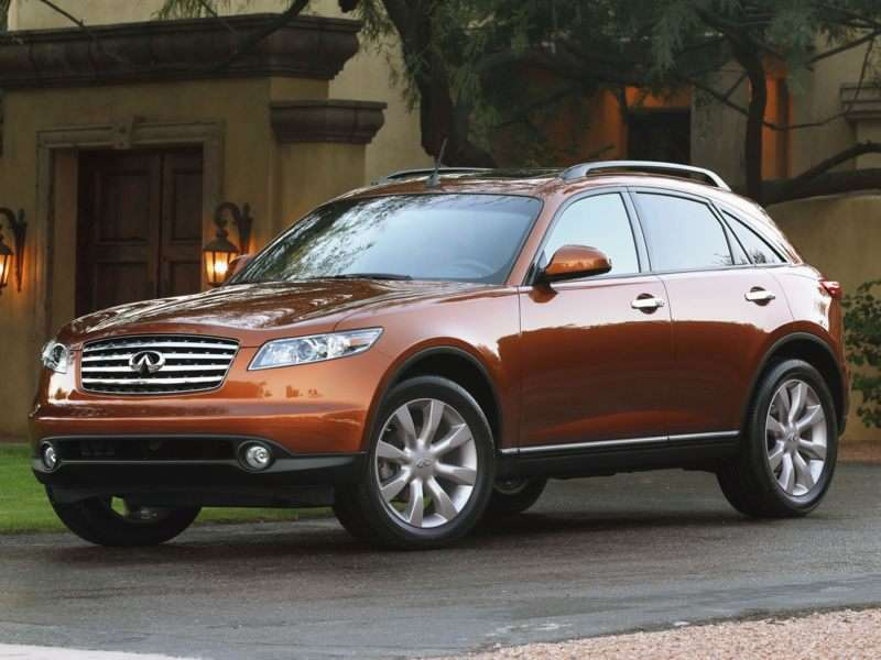 2004 Infiniti Fx45 Pictures Including Interior And