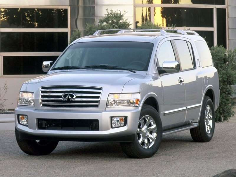 2004 Infiniti Qx56 Pictures Including Interior And Exterior Images