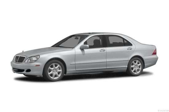 2004 Mercedes-Benz S-Class S 55 AMG RWD