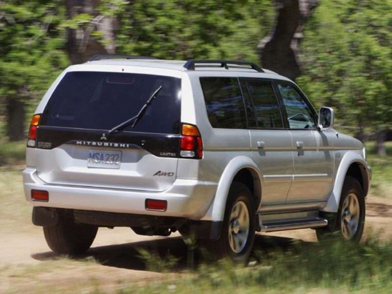 2004 Mitsubishi Montero Sport Pictures Including Interior And Exterior  Images | Autobytel.com